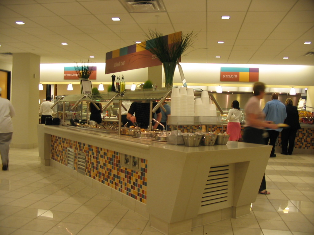 Hospitality Food Court Design
